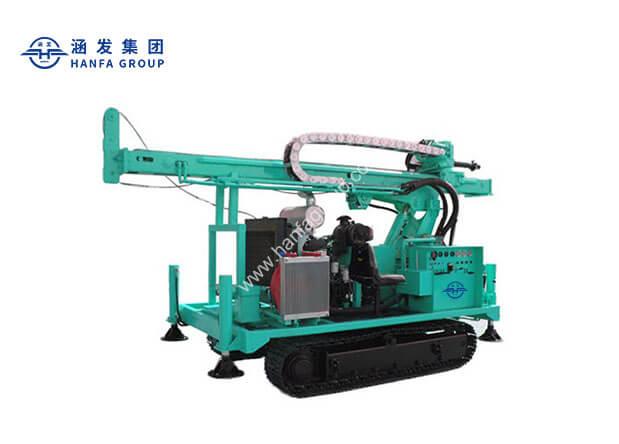 HFJ600C 履带式水井钻机