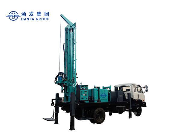 HFJ350KT车载式水井钻机