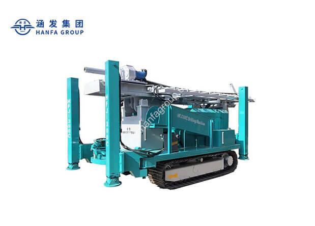 HFJ300C 履带式水井钻机