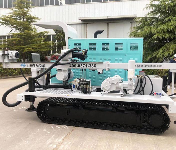 HF-2A全液压岩心钻机完成交付
