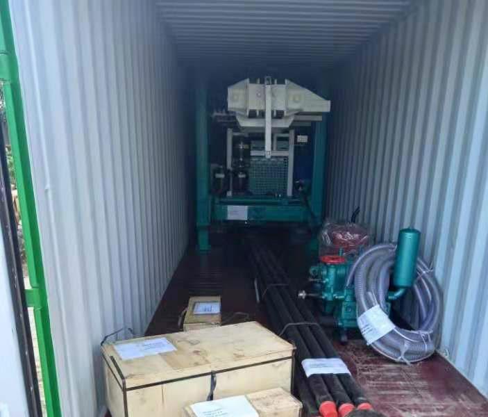 客户收到HFJ300C水井钻机