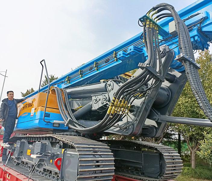 HFR160D旋挖打桩机发货